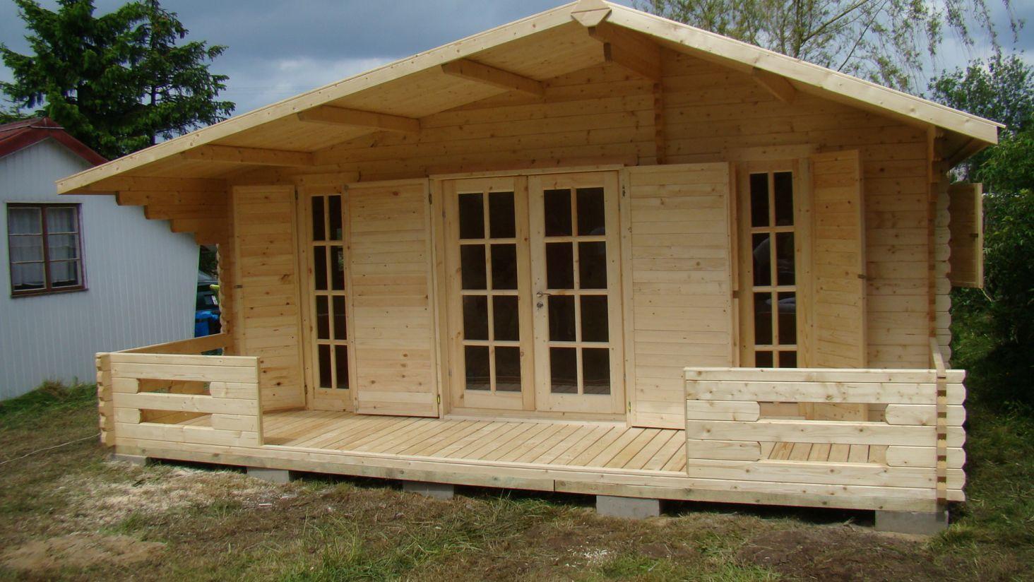 Строительство деревянного дома своими руками - Строим 53