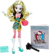 Mattel Monster High Upiorni Uczniowie Lagoona Blue X4636 (Bbj78)