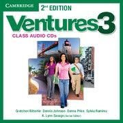 Ventures 2nd Edition Level 3 Class Audio CDs (2)