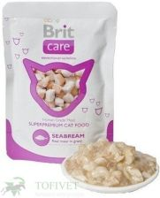 Brit Care Cat Pouch Seabream Ryba Dla Kota Saszetka 12X80G