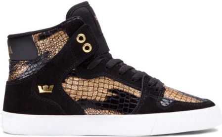 buty SUPRA - Women-Vaider Black/Gold (BKG)
