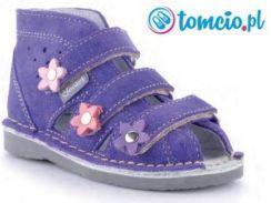 da53808c6b776 Danielki profilaktyczne buty wzór S124, kolor fiolet