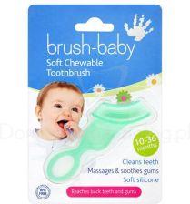 Brush-Baby Gryzak Połączony Ze Szczoteczką Zielony 10-36 M