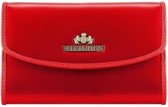 0191e2de40983 Czerwone Portfele dla kobiet - Portfele Wittchen - www.projektniejest.pl