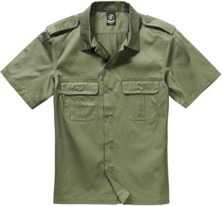 c5bdc9c7457c3 Koszula BRANDIT US Hemd 1/2 Arm Olive (4101.1)