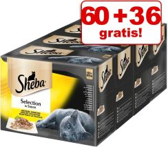 Sheba Selection Mix w sosie 96x85g
