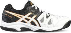 Asics Buty tenisowe Gel-Game 5 GS white/onyx/shocking orange C502Y0199