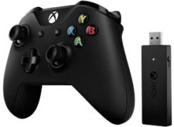 Microsoft Xbox Controller + Wireless Adapter for Windows (CWT-00003)