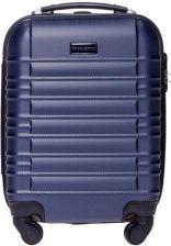 faeb3cbb8f8e2 VIP COLLECTION mała walizka KABINÓWKA PREMIUM V1 Granatowa NEVADA -  Granatowy