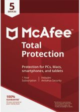 McAfee Total Protection 2018 PL 5 st./12m. (731944707167)