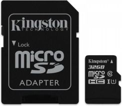 Kingston microSDHC 32GB Canvas Select C10 UHS-I (SDCS32GB)