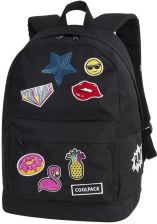b2770e39e493c Patio Plecak Coolpack Cross Badges Girls Black 93873CP - Ceny i ...