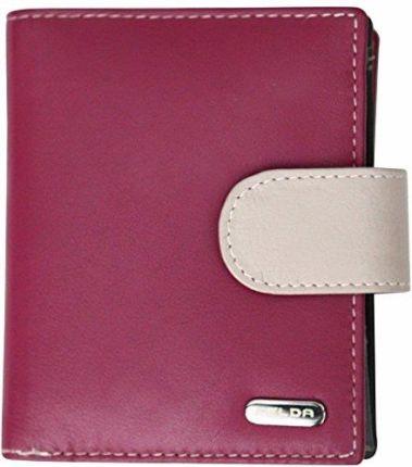 424e9114da29a Amazon Damski portfel z prawdziwej skóry z 10 przegródkami – RFID Blocker