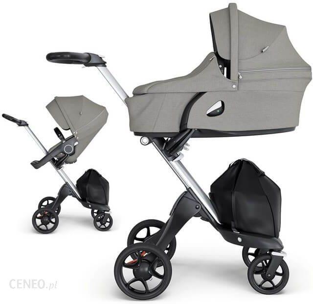 w zek stokke xplory v6 brushed grey g boko spacerowy. Black Bedroom Furniture Sets. Home Design Ideas