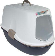 Zolux Toaleta Furba Z Sitkiem 39X59X43Cm Kol Granatowy