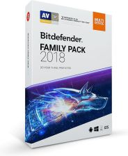 Bitdefender Family Pack 2018 Unlimited Device 1Rok 1U BOX (OP-B-BIT-016)