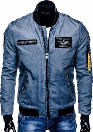 9a259bb45cac3 Kurtka męska momber jacket pilotka C370 błękit M Allegro