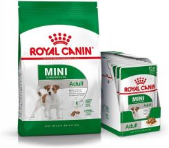 Royal Canin Multipack Mini Adult 8kg + Mini Adult Wet 12x85g