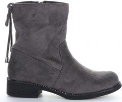 f02b3e2502f11 Firmowe Botki Damskie Lady Glory buty na każdą okazję wykonane z wysokiej  jakości skóry eko Czarne (kolory) 135,00zł. Botki Damskie z wysokiej jakości  ...