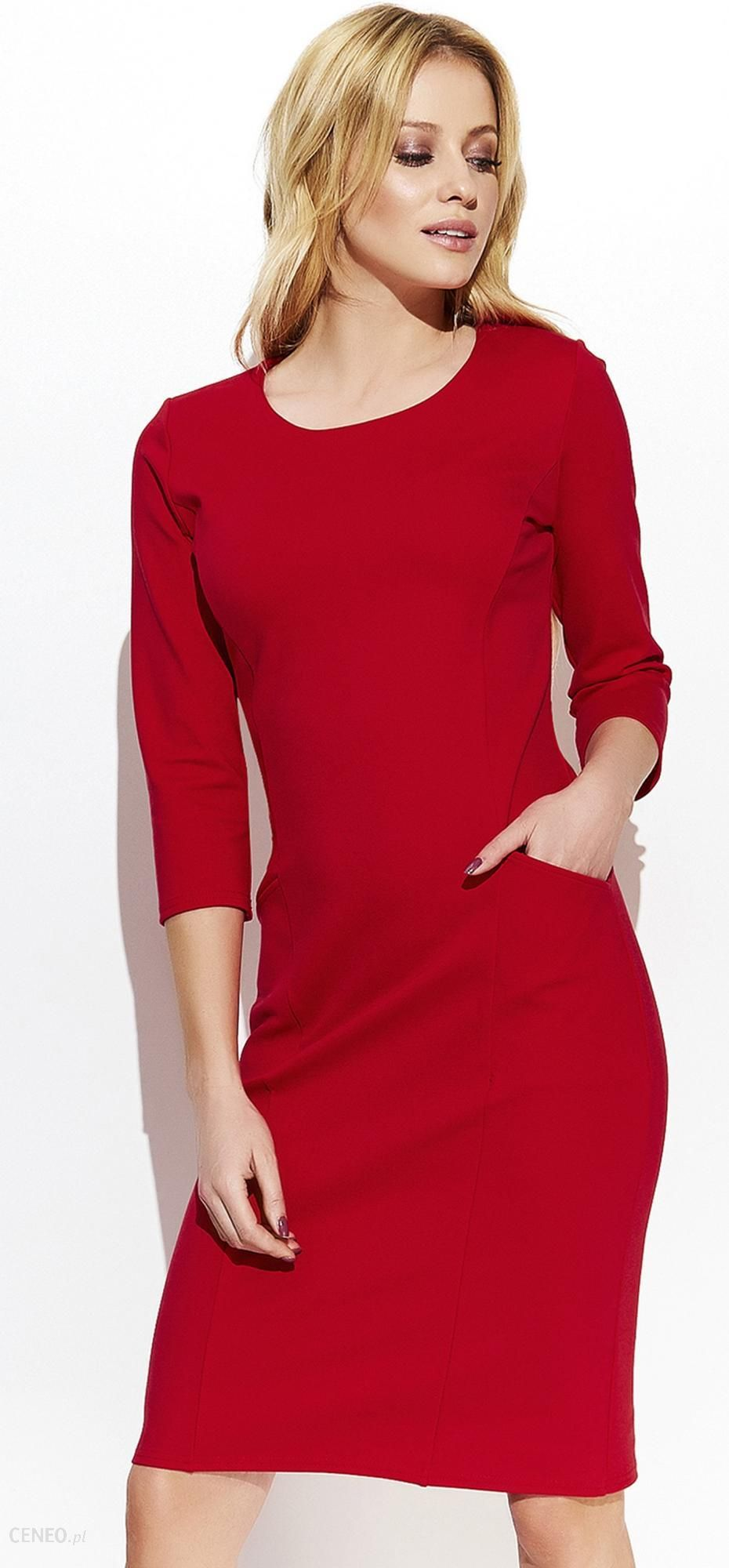 cb3553f005c Makadamia sukienka damska 38 czerwona - Ceny i opinie ...