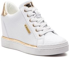 Damskie buty BLUSHY2 ACTIVE LEATHER LI FL5BL2ELE12 WHITE GUESS