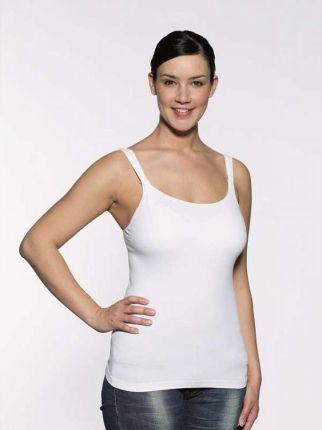 f0f0a445579f37 Medela, koszulka dla kobiet karmiących piersią, Tank Top, biały, ...