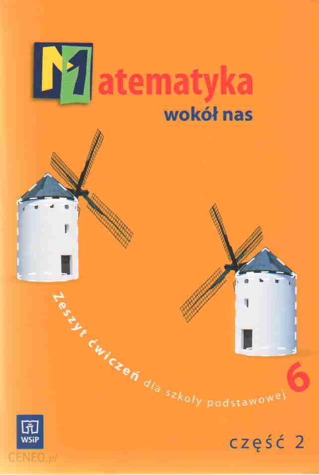 matematyka wokół nas klasa 6 podręcznik odpowiedzi do zadań