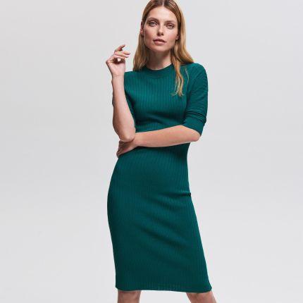 b6075377 Zielone Sukienki Dzianinowe wiosna 2019 - tranquilskinandbeauty.com.au