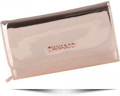 bcffe6d0228d2 Ekskluzywne Lakierowane Portfele Damskie Diana&Co Firenze Różowe Metalik  (kolory)