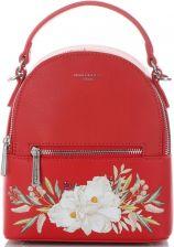 6538680725515 Modny Plecaczek Damski wzór w kwiaty Firmy David Jones Czerwony (kolory) ...