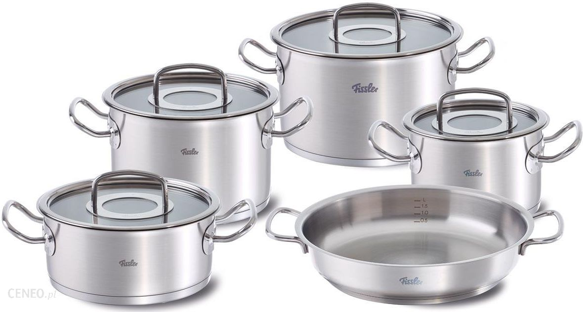 fissler zestaw 5cz original profi collection 84358050000 opinie i atrakcyjne ceny na www. Black Bedroom Furniture Sets. Home Design Ideas