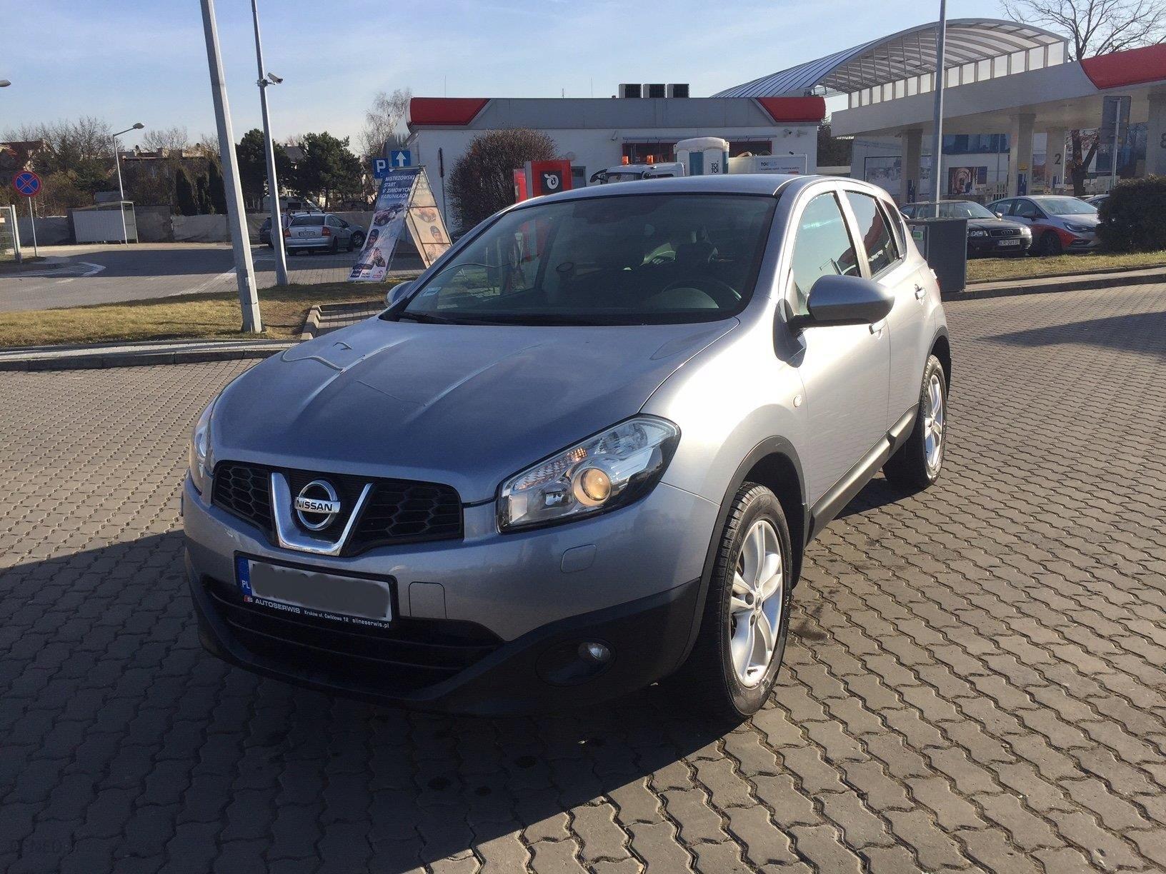 Nissan Qashqai 1.6 Benzyna srebrny - Opinie i ceny na www ...