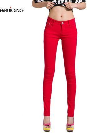 7d196f1989ae3c AliExpress Damska cukierki spodnie spodnie damskie obcisłe 2019 AutumnFall  Khaki spodnie rozciągliwe dla kobiet Slim panie