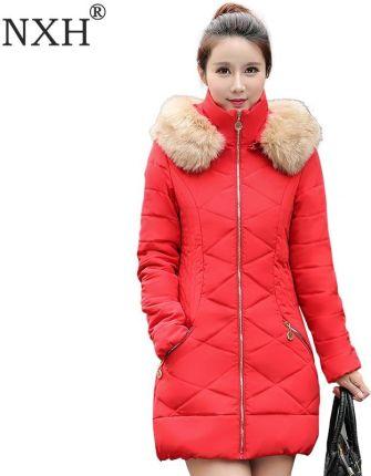 f79fbd0beb163d AliExpress NXH 2018 Nowych Mody kurtka zimowa kobiety dół bawełny kurtka z  długim rękawem Slim fack