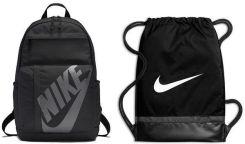 3170703cac27a Zestaw plecak Elemental + worek na buty Brasilia Training Nike (czarny)