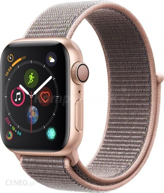 Smartwatche i smartbandy apple watch series 4 gps cellular 40mm gold aluminium case with pink for Watches with gps