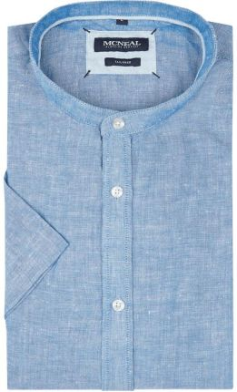 b02a11c04709aa MCNEAL Koszula casualowa o kroju tailored fit z krótkim rękawem ...