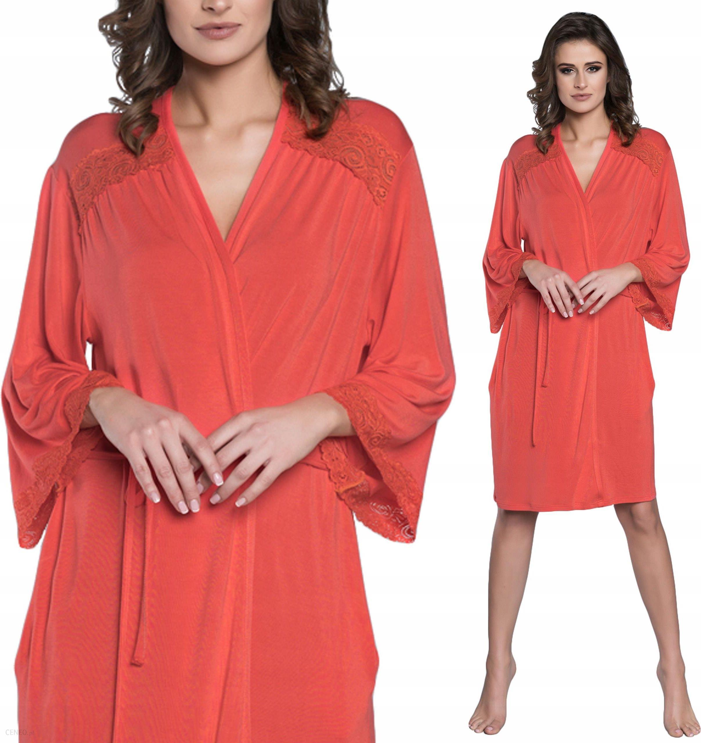 b4abea0777ac14 Inspiracja Italian Fashion szlafrok z koronką - Ceny i opinie - www ...