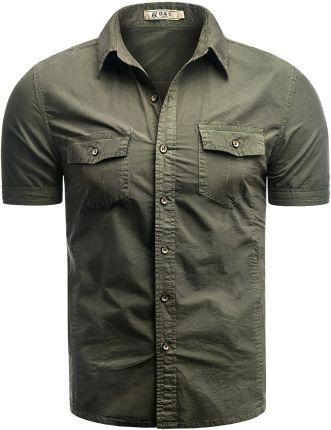 2f5d7d468ad40 Koszula męska ElbrusELBRUS Koszula męska Gafar bicsay bay / poison green r.  XXL 99,99zł. Koszula 281-761 - khaki