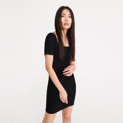 f4e3f7b9507142 Czarna Sukienka Reserved - oferty 2019 - tranquilskinandbeauty.com.au