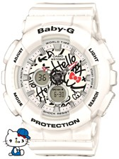 Casio Baby-G Hello Kitty BA 120KT 7AER