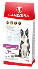 Canivera Adult & Rice Small & Medium Breeds 14kg