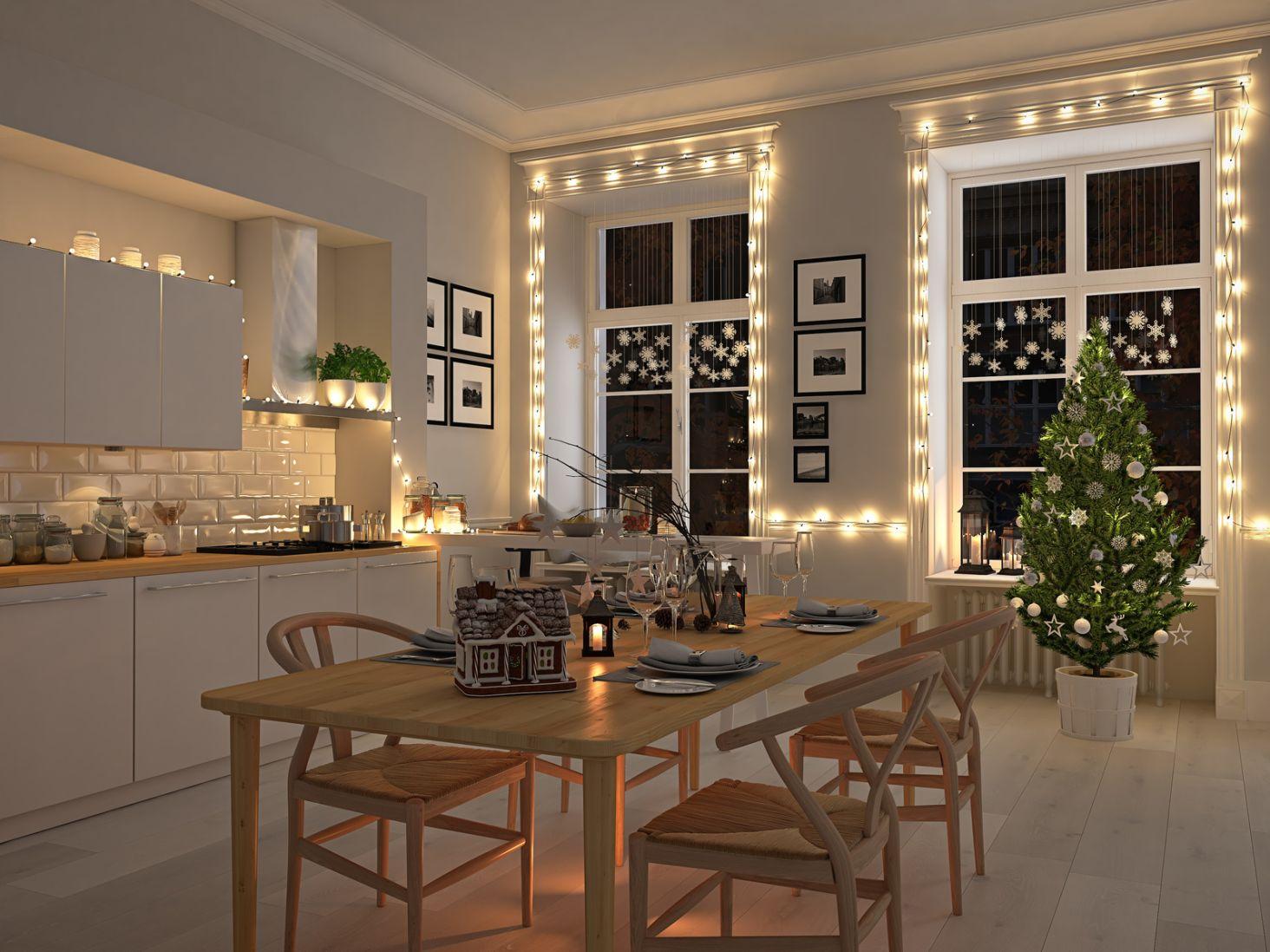 świąteczne Oświetlenie W Mieszkaniu Czyli Lampki Choinkowe