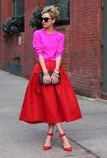 7929f44c Spódnica i sweter: jak je stylizować? - Kraina Stylu