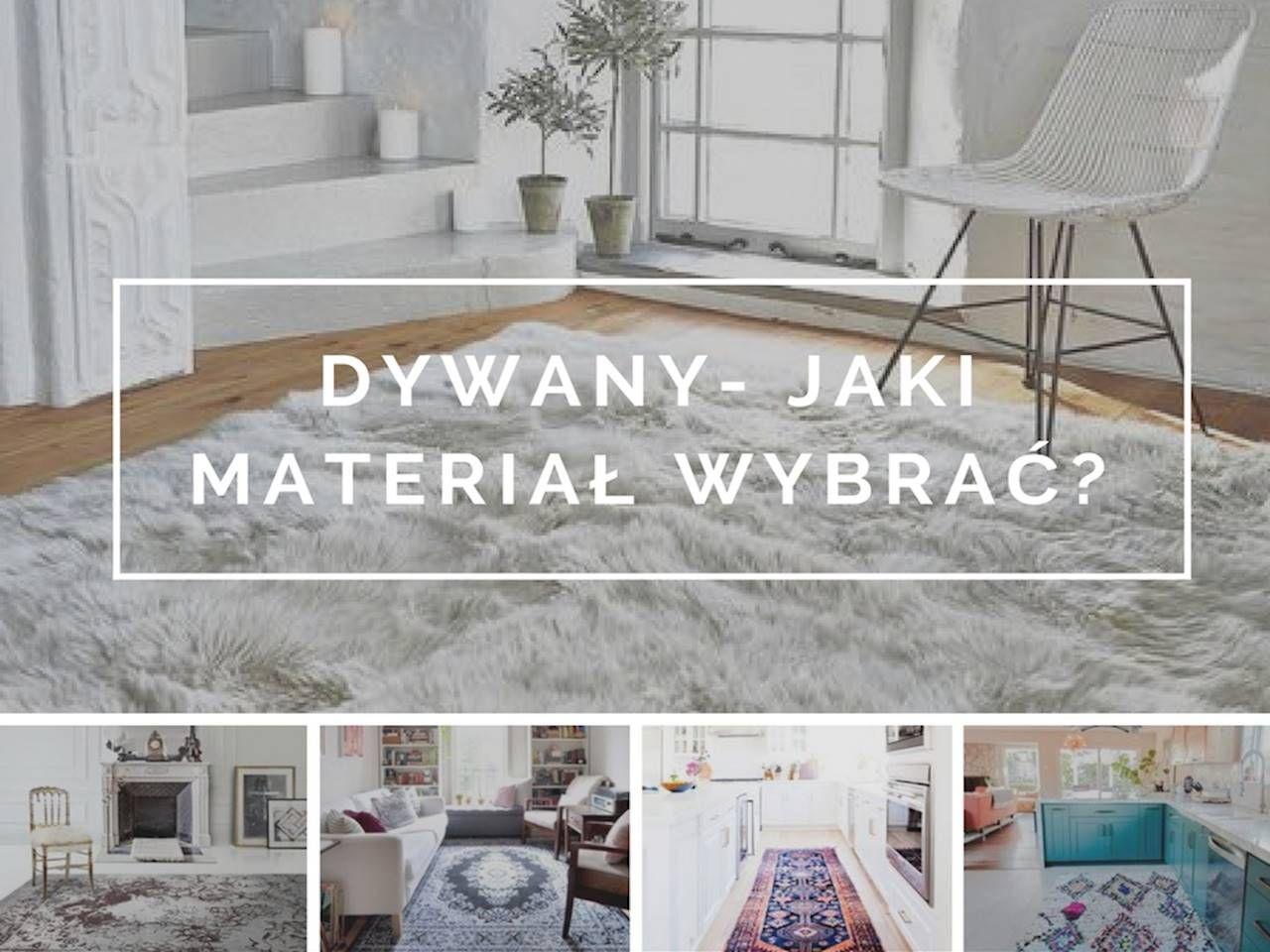 Dywany jaki materiał wybrać? Wnętrza ze Smakiem