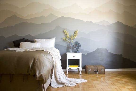 3 Dekoracyjne Inspiracje Diy Piękne ściany Wnętrza Ze