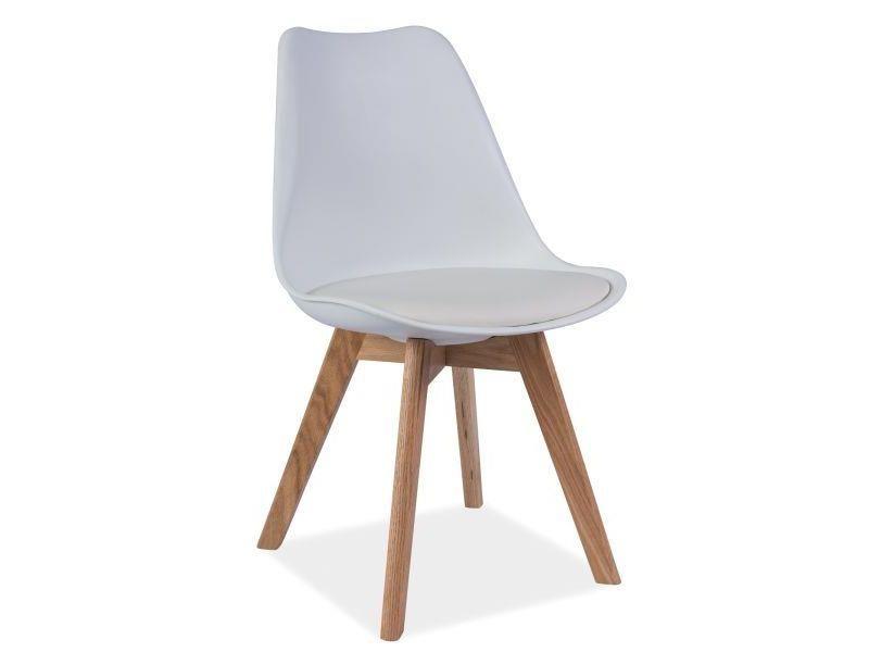Signal Krzesło Kris Białe Opinie I Atrakcyjne Ceny Na