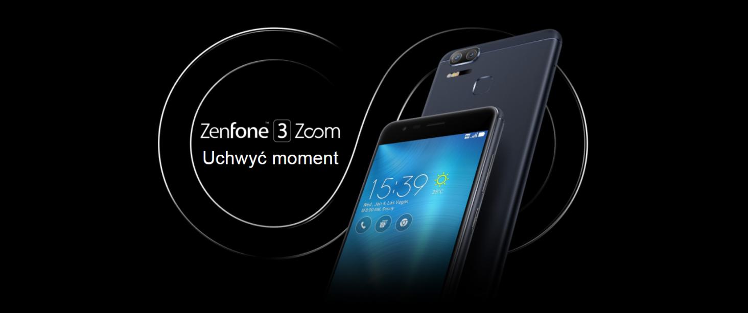 Asus Zenfone Zoom S ZE553KL 4 64GB Czarny