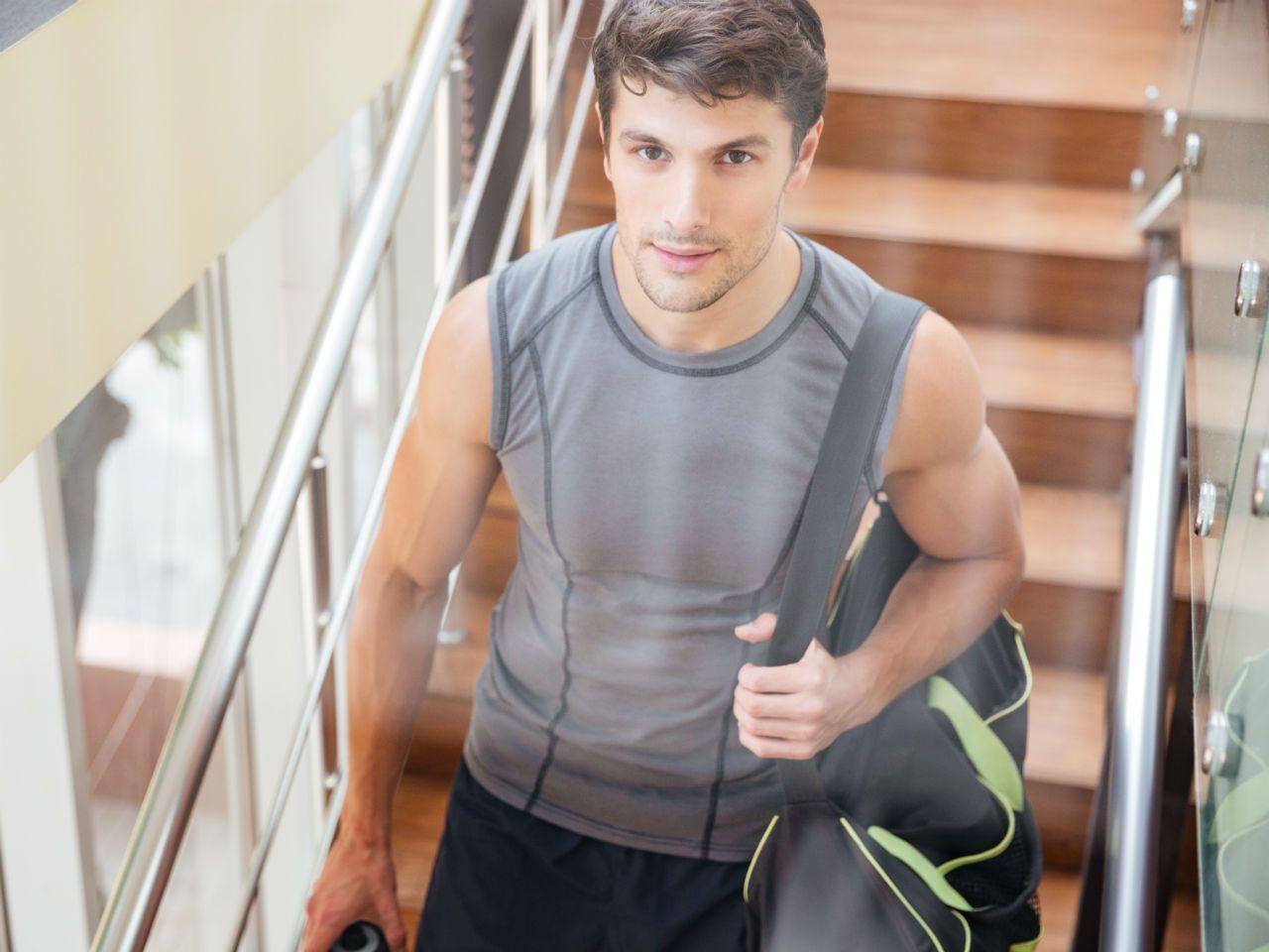 Strój na siłownię męski. W co ubrać się na trening? Blog