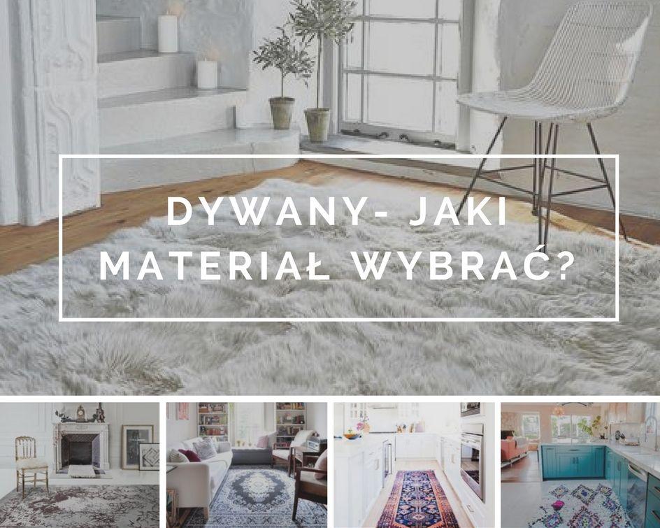 Dywany Jaki Materiał Wybrać Wnętrza Ze Smakiem